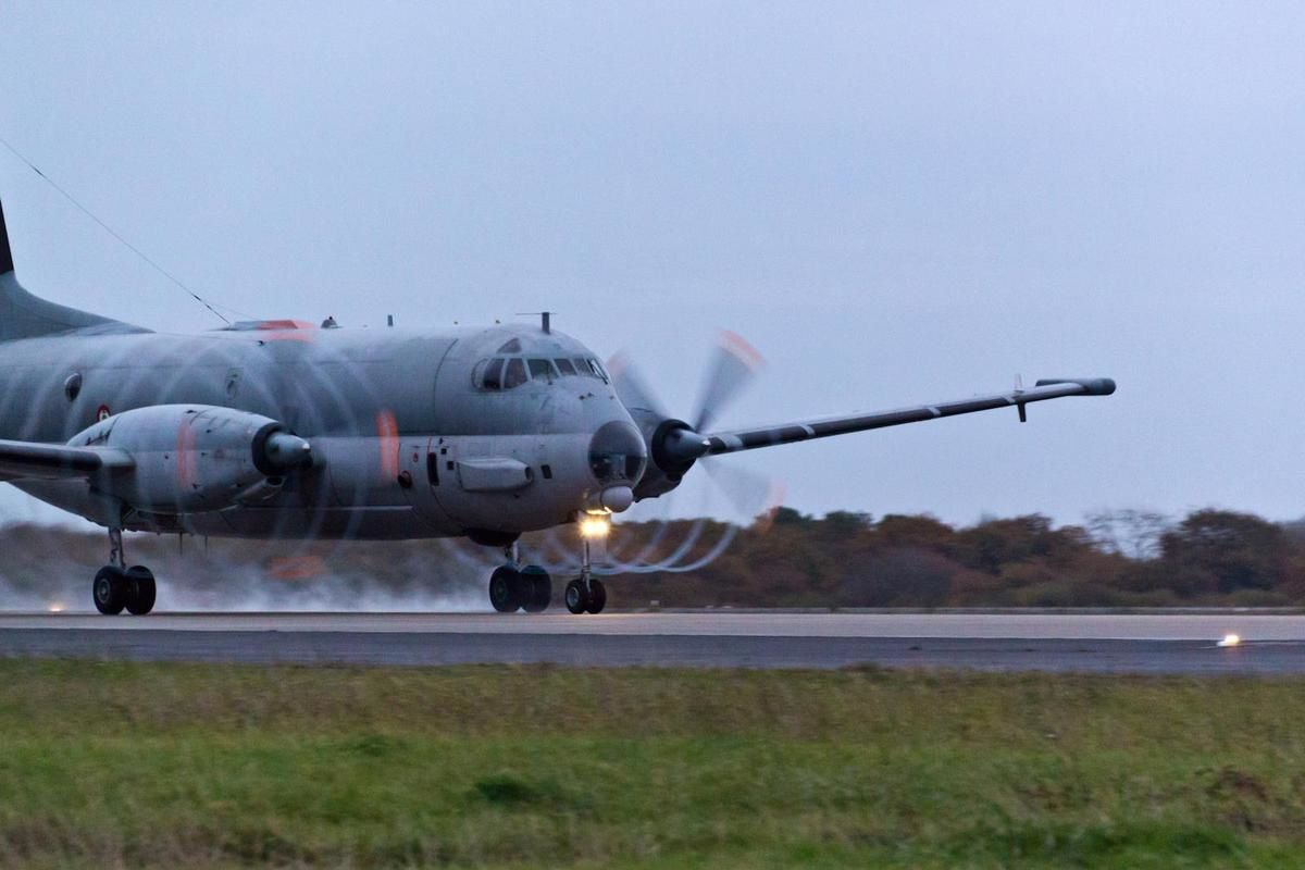 Atlantique 2 de la Marine Nationale - photo V. Daufresne