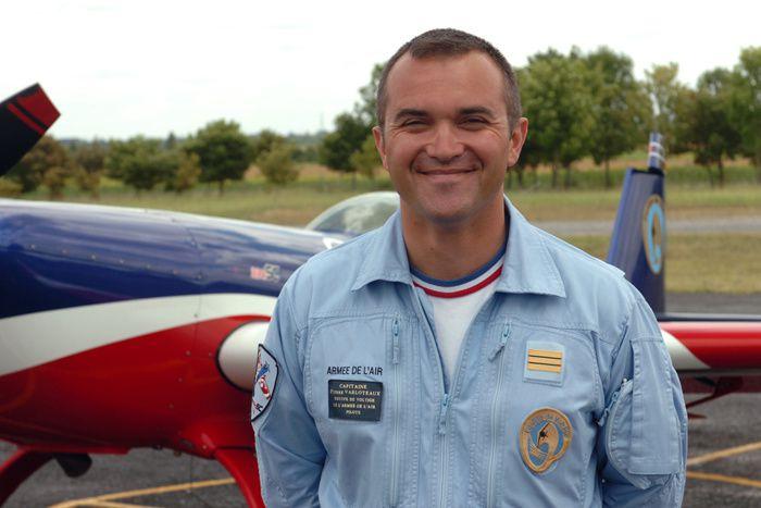 Le Capitine Pierre Varloteaux, nouveau chef de l'EVAA. Photo EPAA