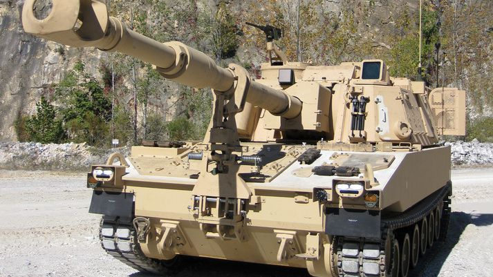 M109A7 Paladin Self-Propelled Howitzer photo BAE Systems