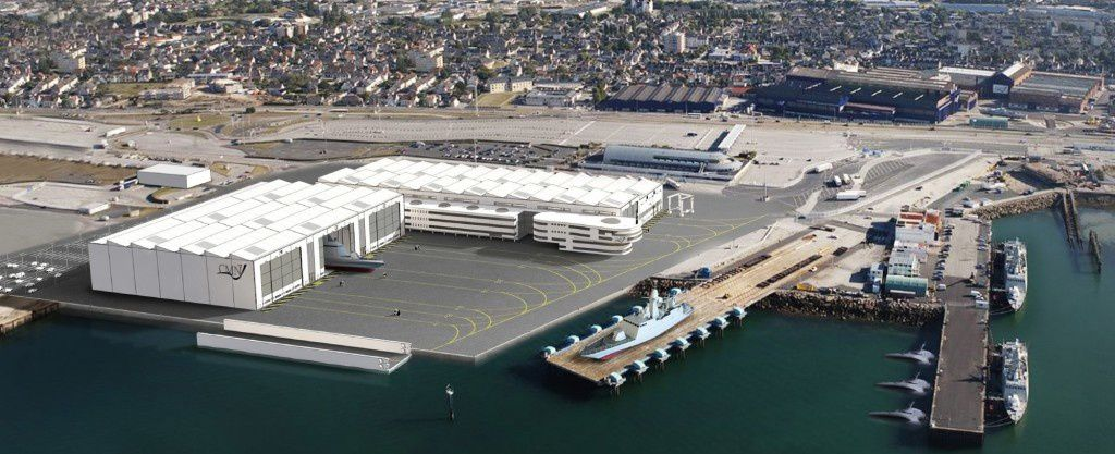 CMN to build a new shipyard in Cherbourg