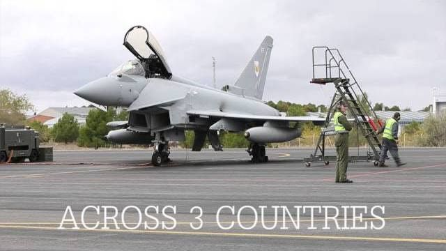 Royal Air Force on Exercise Trident Juncture 2015