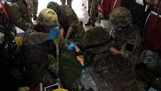Meet The Military Medics Training To Respond In A Crisis