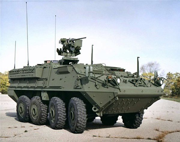 M 1126 Stryker ICV with 30mm cannon and M2 Machine Guns for Lithuania