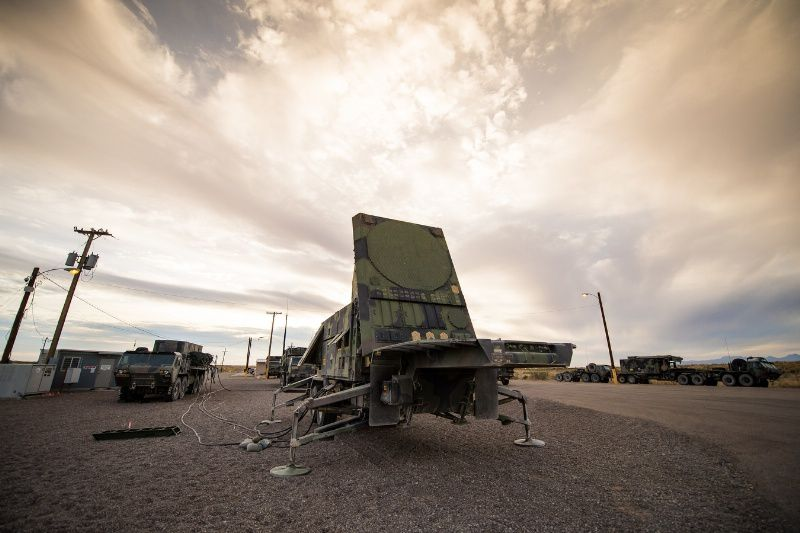 Patriot radar array (photo Raytheon)