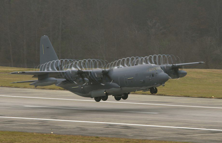 MC-130J Commando II aircraft assigned to Air Force Special Operations Command -  photo Lockheed Martin
