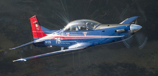 Successful Delivery of the 75th PC-7 MkII to the Indian AF
