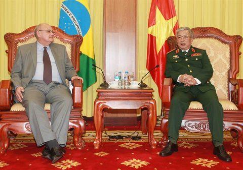 Vietnam-Brésil : De nombreux potentiels de coopération dans la défense