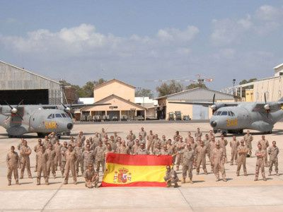 Spanish CN235s in Djibouti