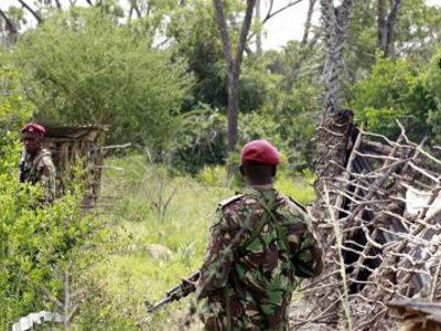 Kenyan forces say flush out suspected Islamist militants in forest