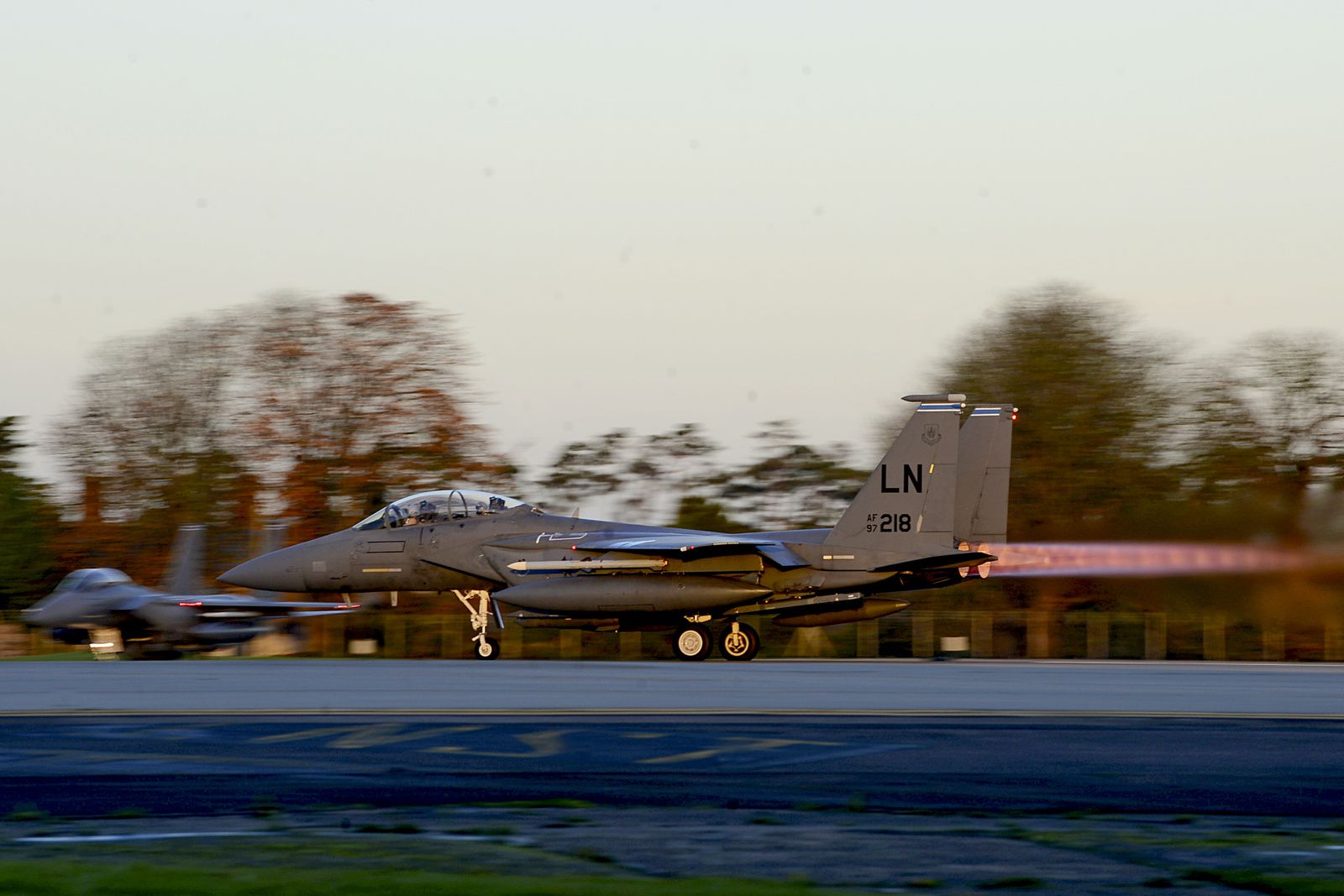 F-15E Strike Eagles arrive at Incirlik Air Base