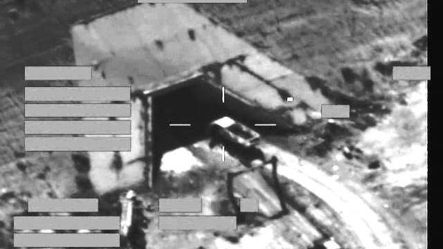 RAF Reaper strike on ISIL vehicle 12 November 2015