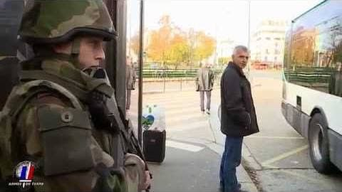 Engagement opérationnel du 3RPIMa - SENTINELLE