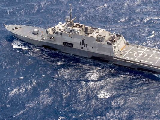 Saudi Arabia's Multi-Mission Surface Combatant will be based on the US Navy's Freedom-class littoral combat ships, seen here, but will be more heavily armed.(Photo US Navy)