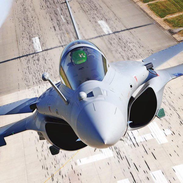 Rafale close-up photo Anthony Pecchi - Dassault Aviation