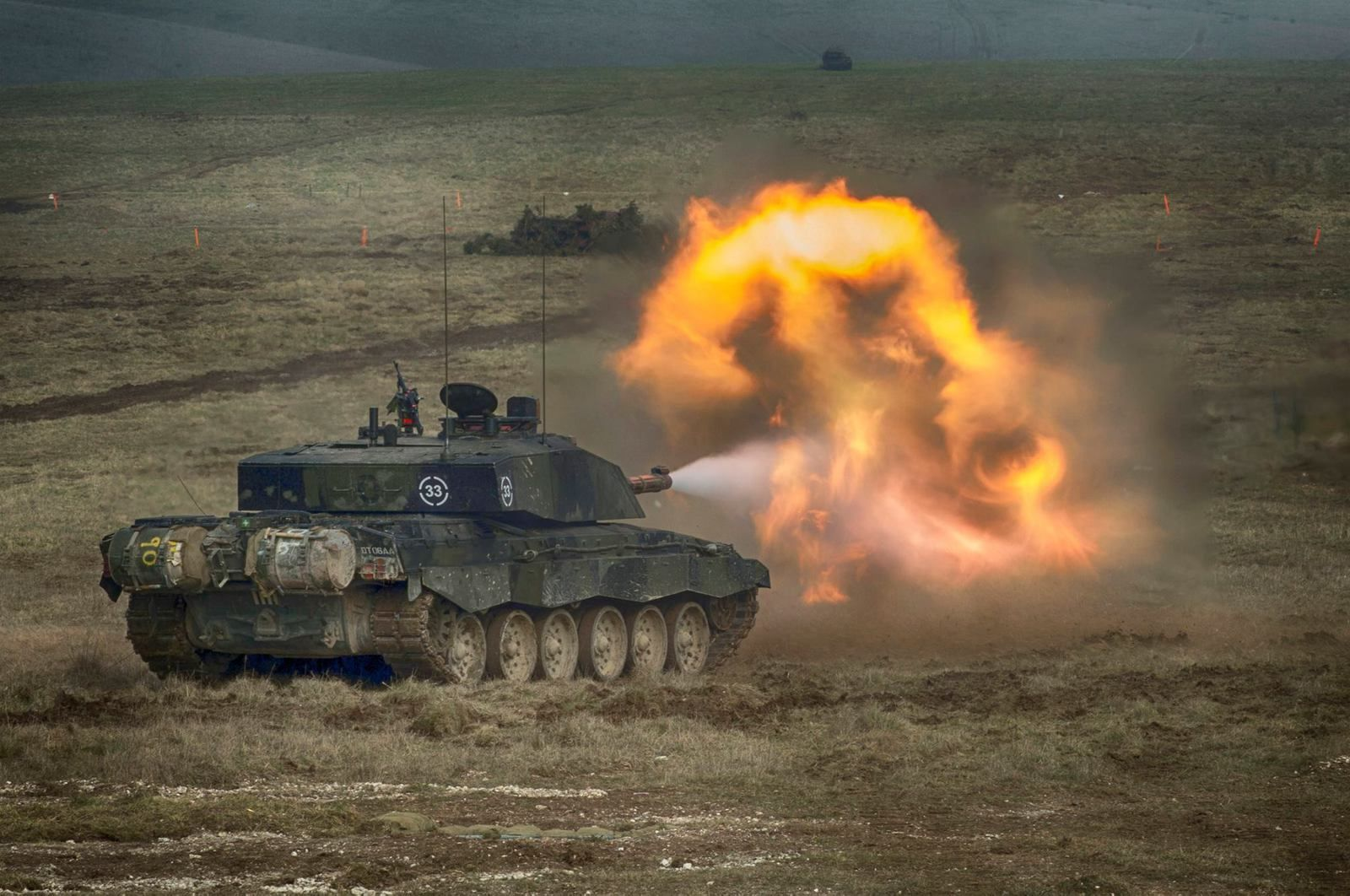 Challenger II tanks will be support by the company under the agreement Photo: British Army - Uk MoD
