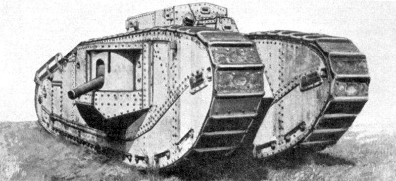 Allied Mark VIII (Liberty) Tank - Tank Museum Guide. Part I - 1915-1918 - Royal Armoured Corps Centre, Bovington