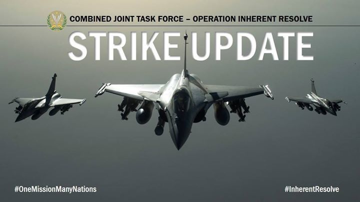 Inherent Resolve – Chammal SITREP 5 Dec – CJTF-OIR