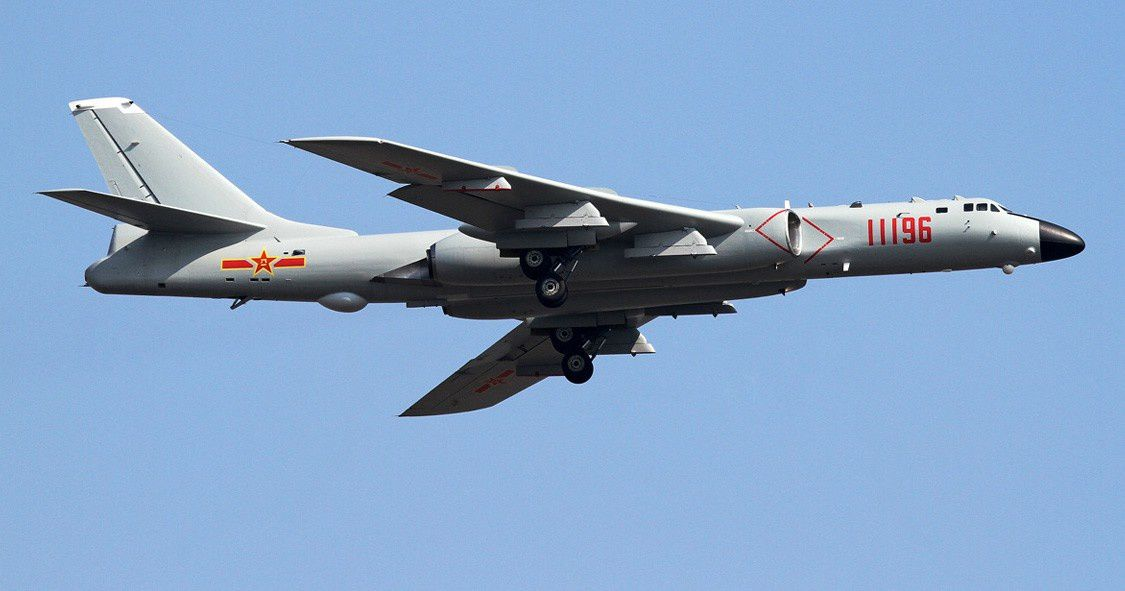 H-6K. Photo via Chinese Internet