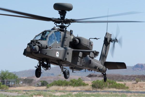 AH-64D Apache Block III attack helicopter. photo PEO Aviation