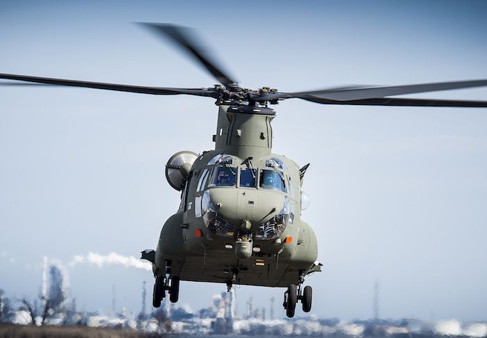 La Royal Air Force dispose désormais de 14 Mark-6 Chinook photo Boeing