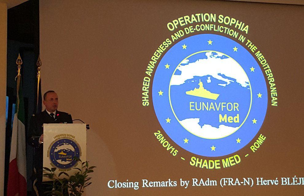 EUNAVFOR MED: Première réunion SHADE en Méditerranée