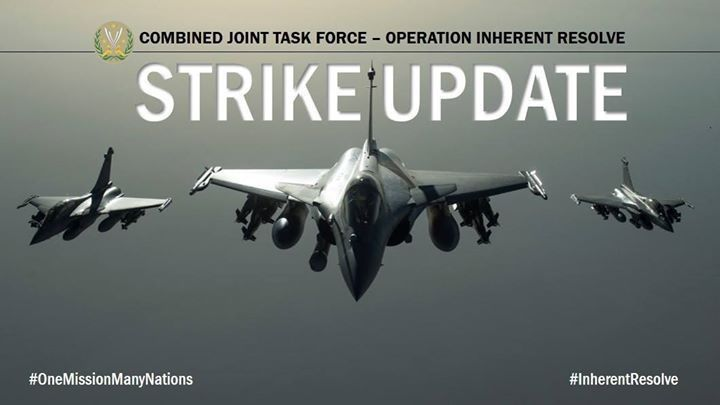 Inherent Resolve – Chammal SITREP 16 Dec – CJTF-OIR