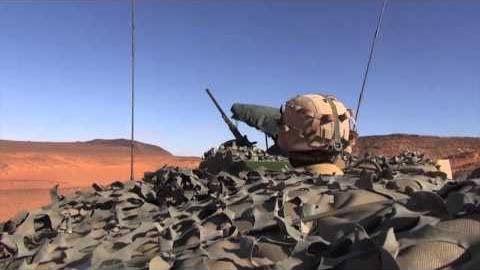 Barkhane - Prise de contrôle d'une &quot&#x3B;passe&quot&#x3B; dans le désert saharien