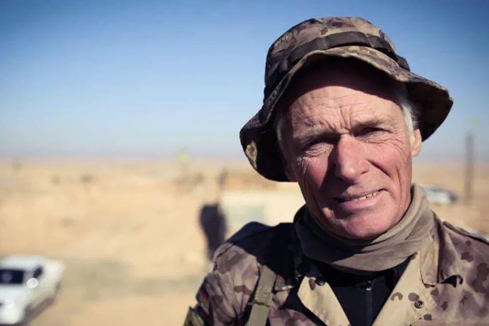Zinar Garcia À 67 ans ce Canadien combat Daesh en Syrie