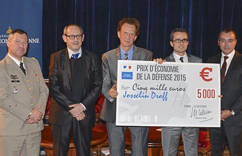 Le prix d'économie de la défense 2015