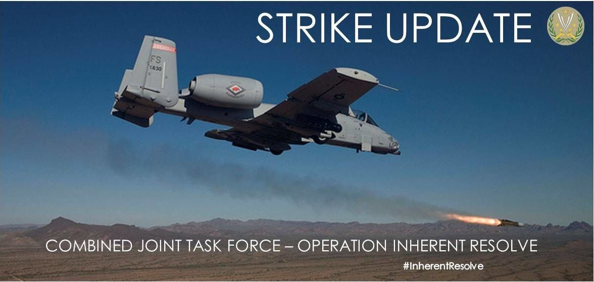 Inherent Resolve – Chammal SITREP 23 Dec – CJTF-OIR