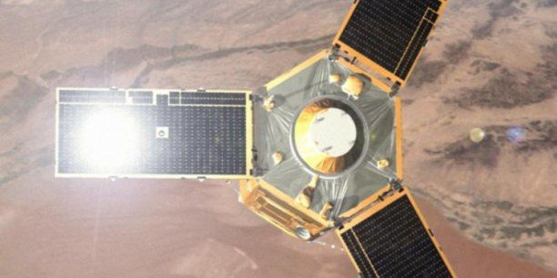 "L'Egypte attendra 2016 pour commander deux satellites ""Made in France"" (Crédits : Aibus Space)"