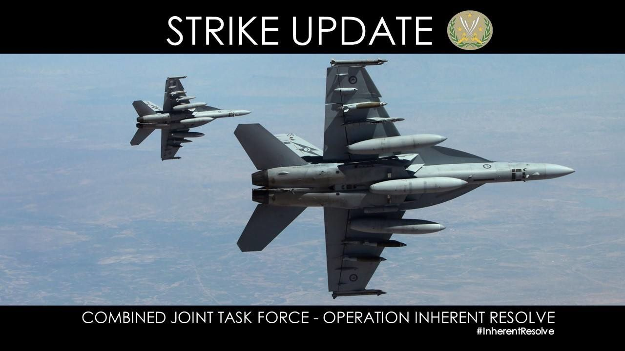 Inherent Resolve – Chammal SITREP 29 Dec – CJTF-OIR