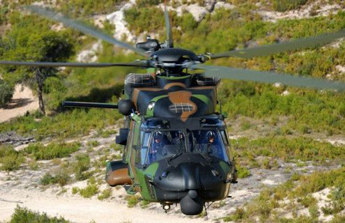 La version terrestre de l'hélicoptère NH90 Caïman - photo Airbus HC