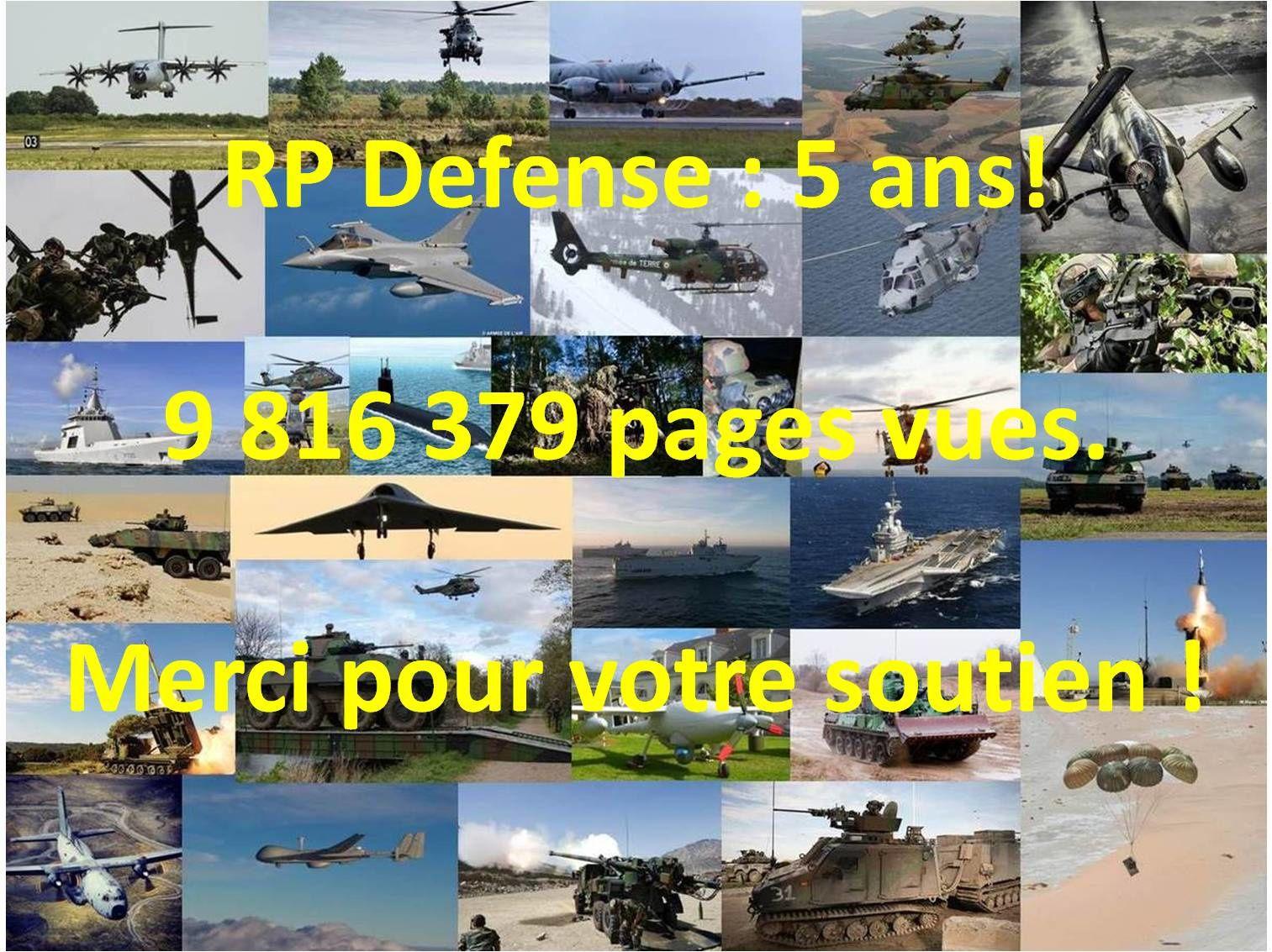 RP Defense : 5 ans, déjà !
