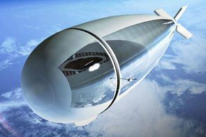 StratoBus - halfway between a drone and a satellite - photo Thales Alenia Space