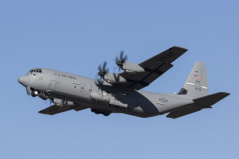 C-130J Super Hercules airlifter photo Lockheed Martin