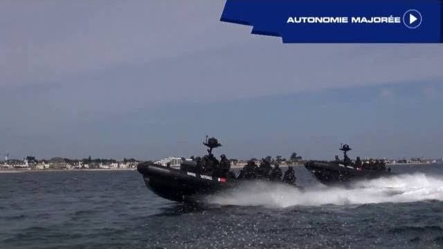 [Euronaval 2016] Embarcation commando à usage multiple (ECUME)