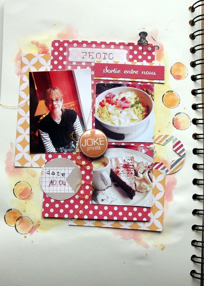 DT swirlcards : family diary avril