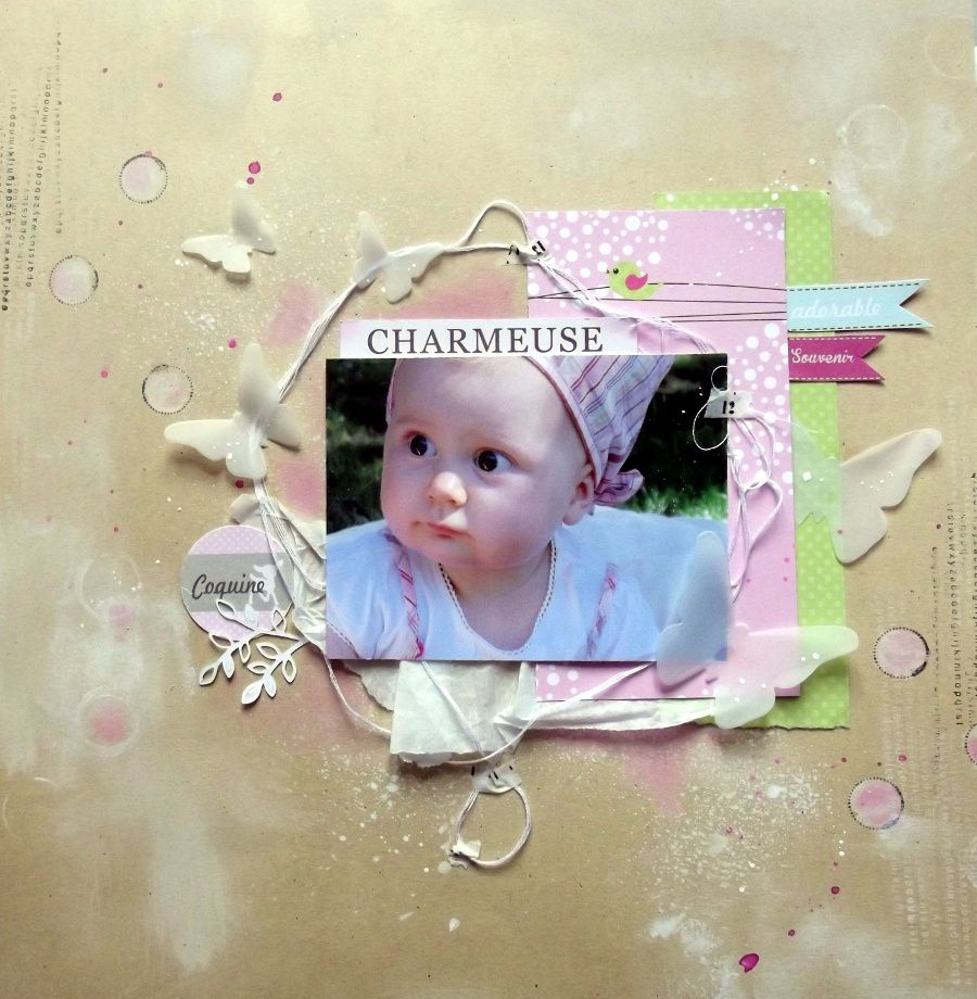 DT Swirlcards : charmeuse