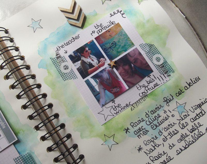 DT Swirlcards : Family diary juin