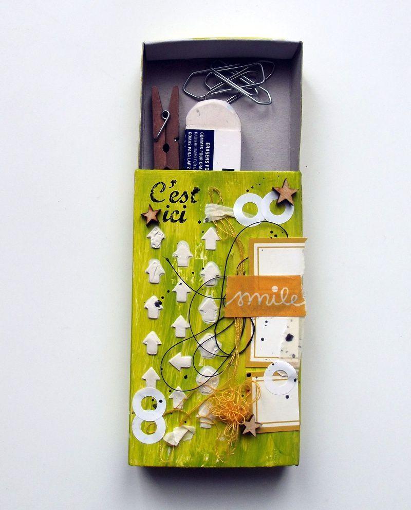 L'inspi du mercredi 3: boîte pour le bureau ou les scrapbidules
