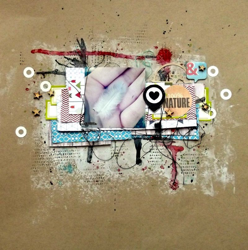 DT just create and scrap sketch 52 : mon dernier...