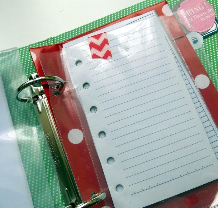 L'inspi du mercredi : scrap organizer!