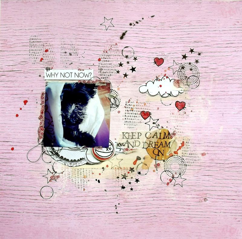 Lift du mois pour Just Create and scrap
