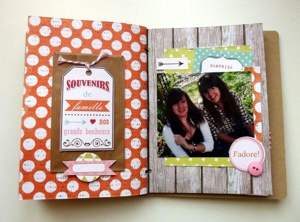 Mini album &quot&#x3B;Joyeux anniversaire&quot&#x3B; pour Swirlcards