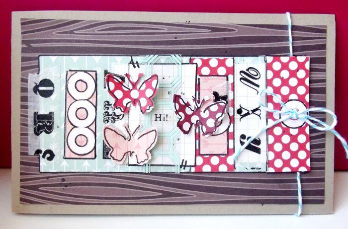 Page &quot&#x3B;jolie rencontre&quot&#x3B; + 2 cartes