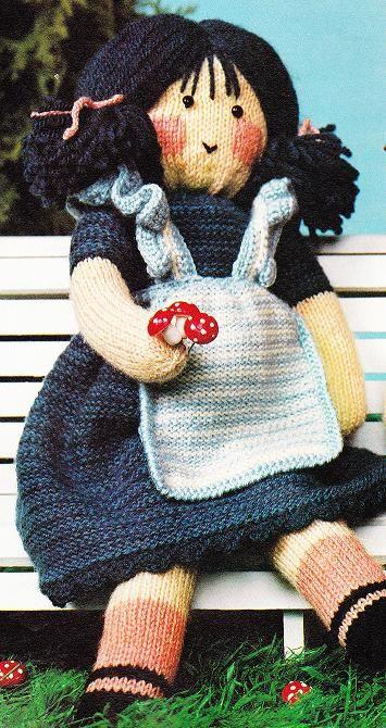 Poupées au tricot