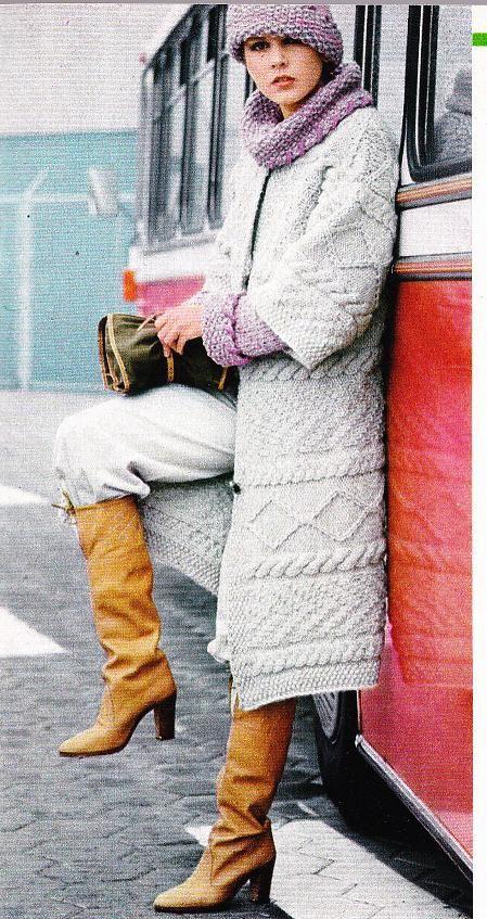 Manteau pour femme: tricot