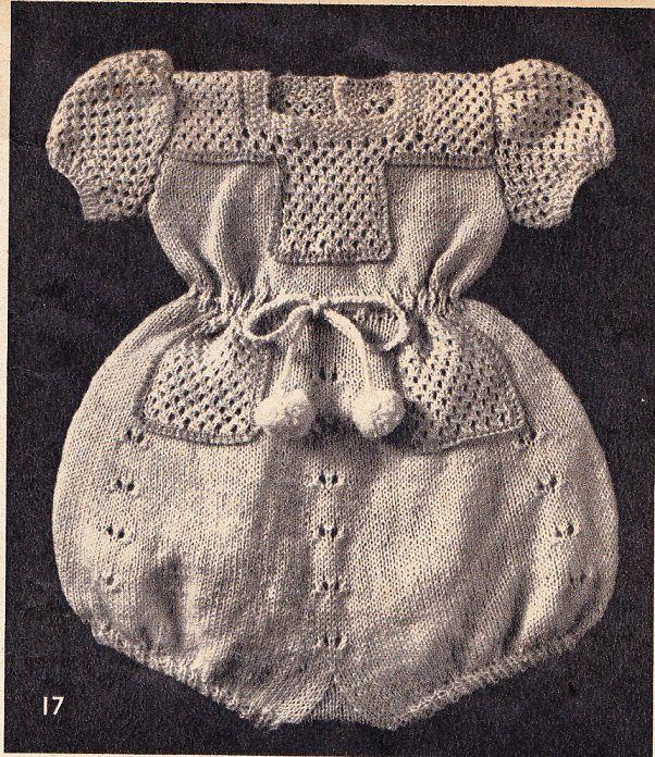 Layette: barboteuse en coton