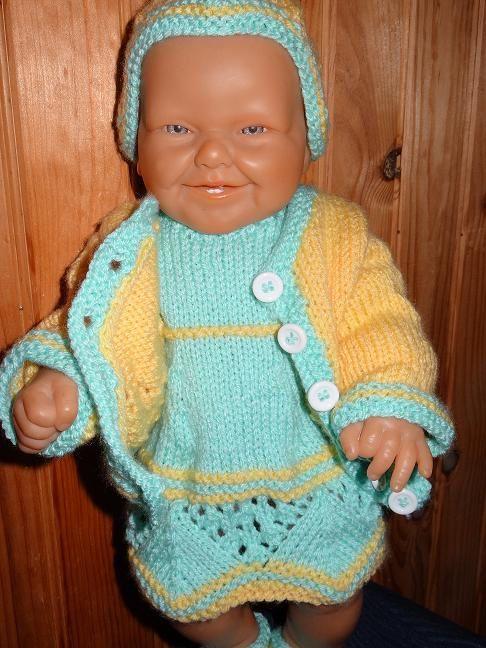 Fiche gratuite vêtements de poupée N° 175 la suite